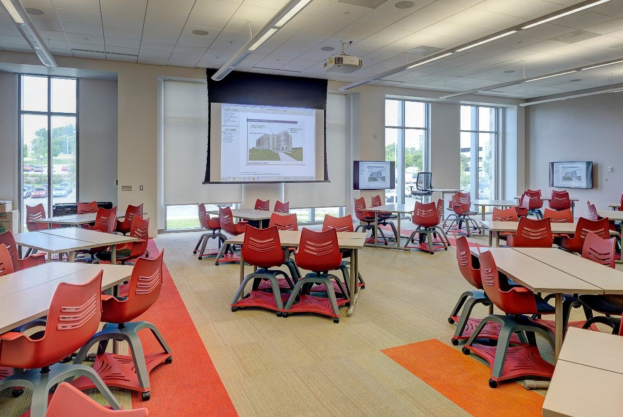 Modern Classroom Facilities ~ New virginia tech building opens providing students with