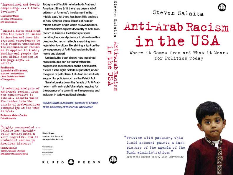 Salaita's book <cite>Anti-Arab Racism in the USA</