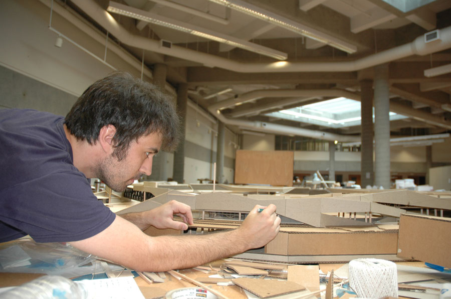 Sean Andrew Witty, Who Received His Bachelor Of Architecture In Spring  2008, Works On