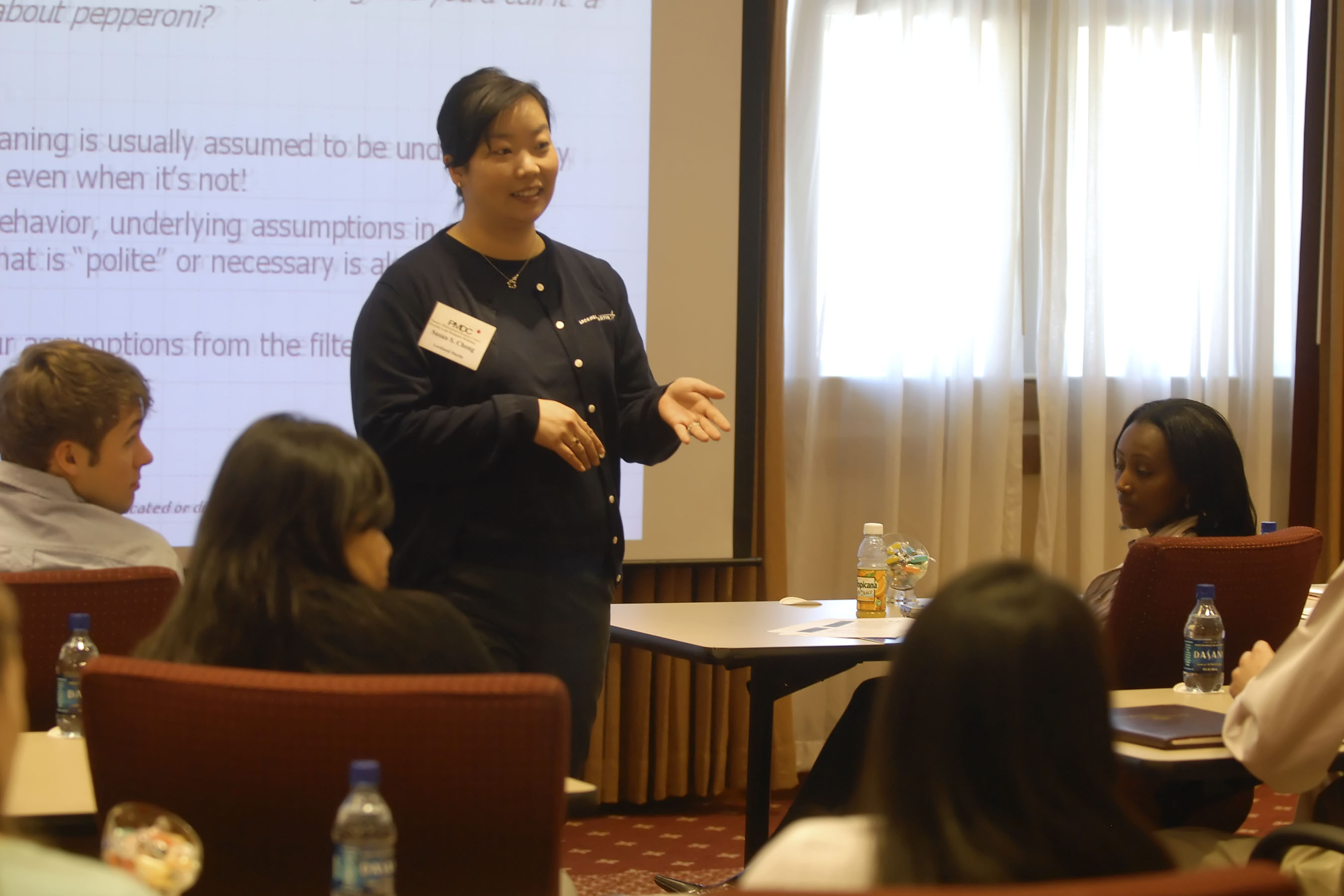 The first diversity conference organized by the Pamplin Multicultural Diversity Council in March 2006 included a workshop led by a representative from Lockheed Martin.