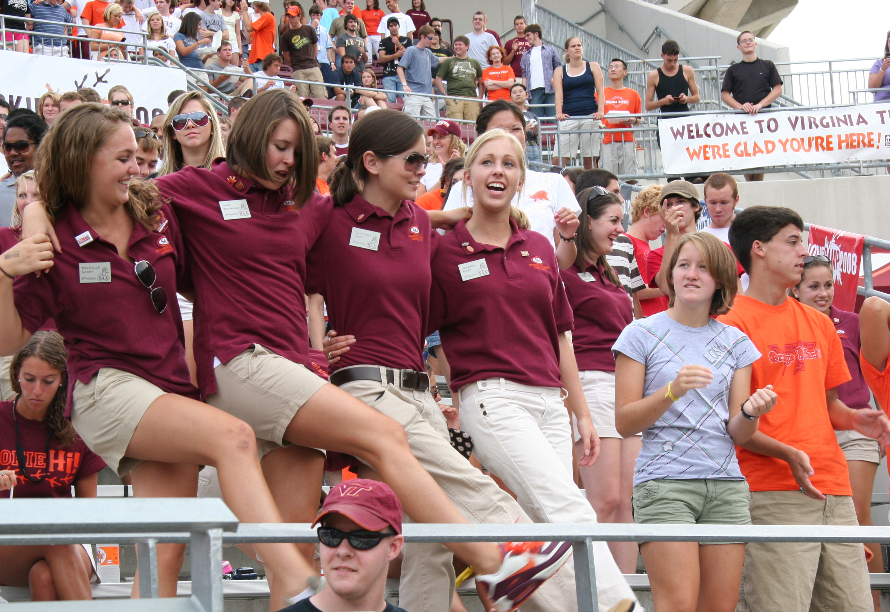 The Hokie Spirit Picnic is on Aug. 23
