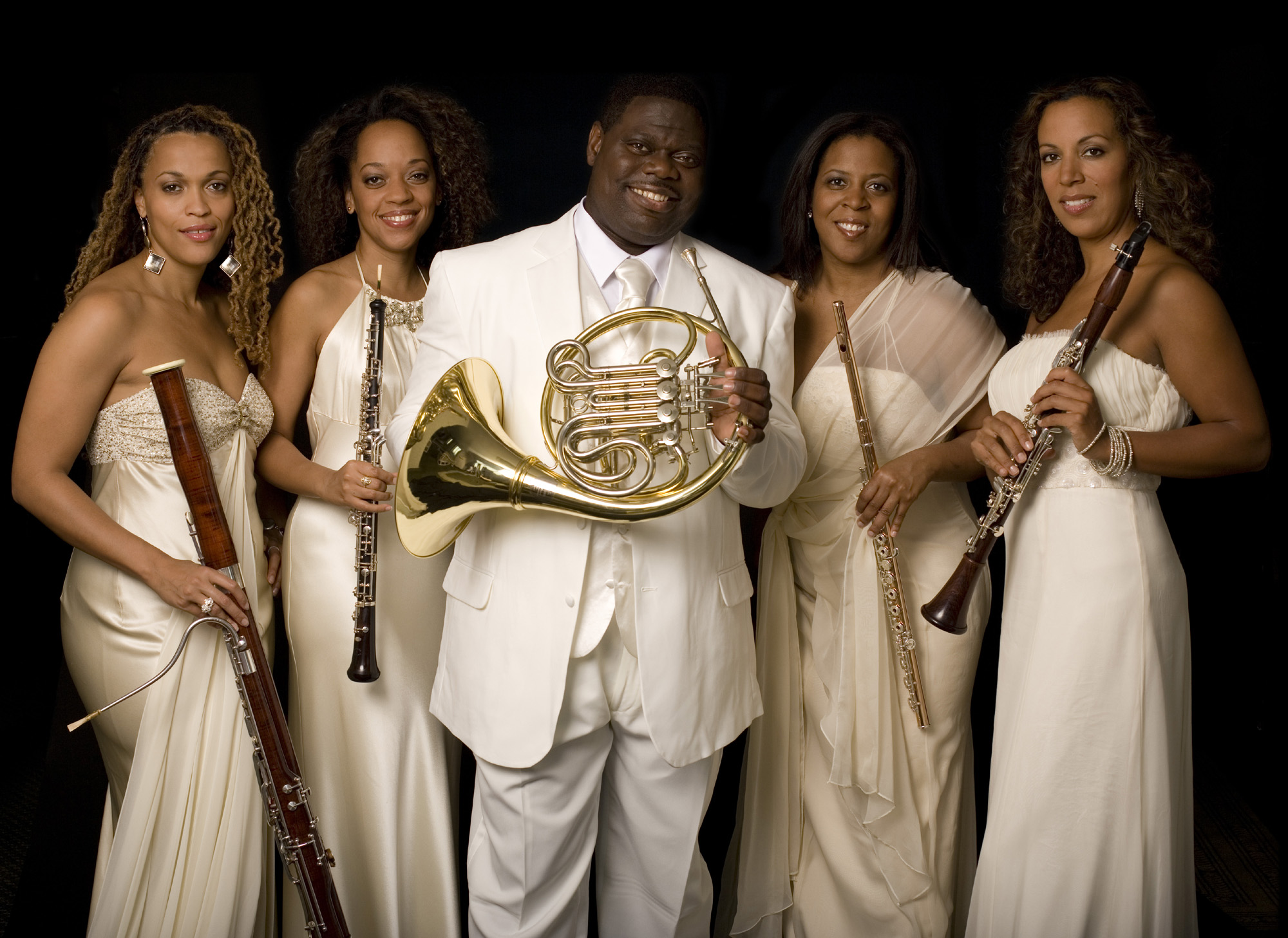 Grammy-nominated Imani Winds incorporates European, American, African, and Latin American influences with the classical music tradition.