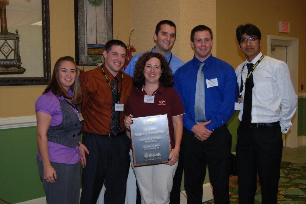 Pictured left to right are Stephanie Savoia, Jason Lieb, Christine Fiori, Gavin McDuff, Josh Zilke, and Vaibhav Gupta.