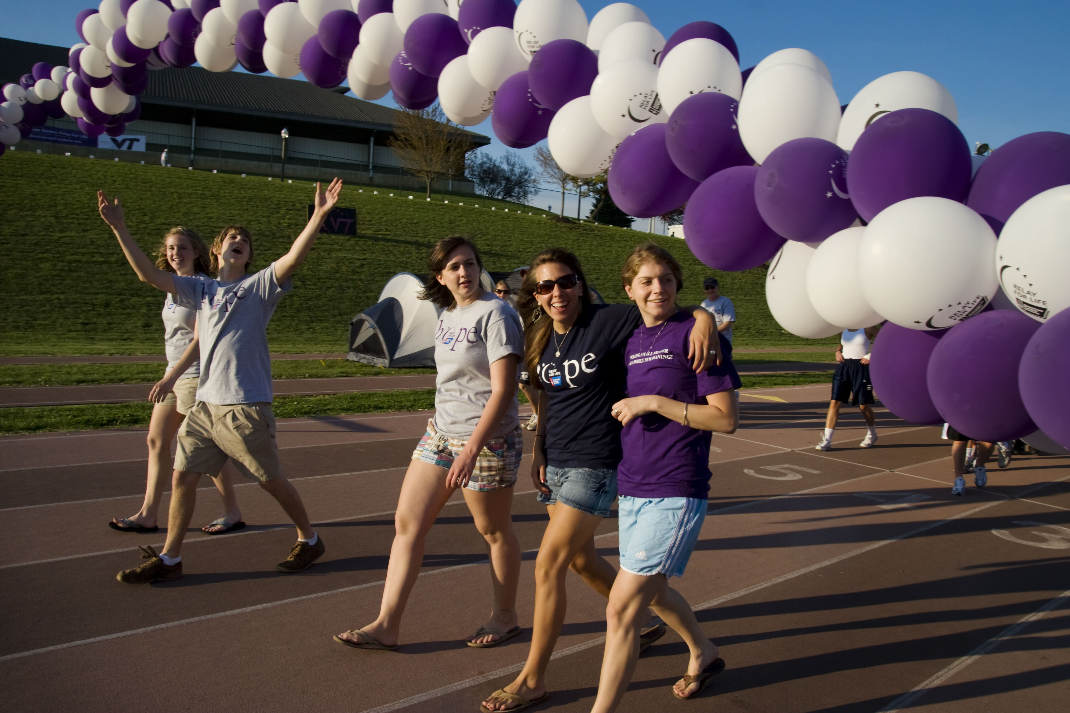 The 2010 Relay For Life at Virginia Tech is set for April 9.