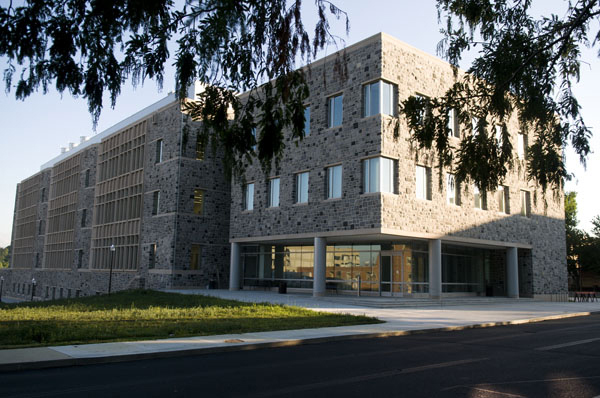 The Hume Center is administered through Virginia Tech's Institute for Critical Technology and Applied Science (pictured).