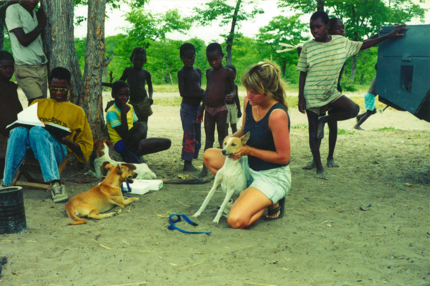 Kathleen Alexander examined how human behavior influences disease transmission between domestic and wild dogs in Africa.