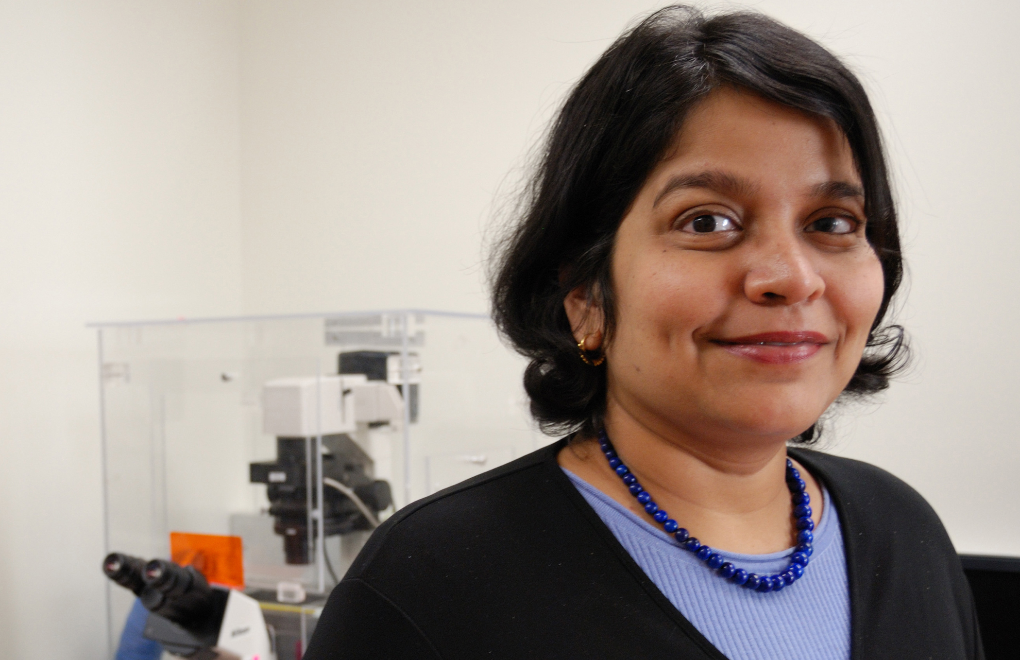 Padma Rajagopalan, an assistant professor in the department of chemical engineering, has won a National Science Foundation CAREER grant of $451,379 to understand the locomotion or migration of cells under complex environments and in the presence of conflicting stimuli.