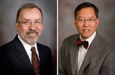 Leo Piilonen (left) and Gordon Yee
