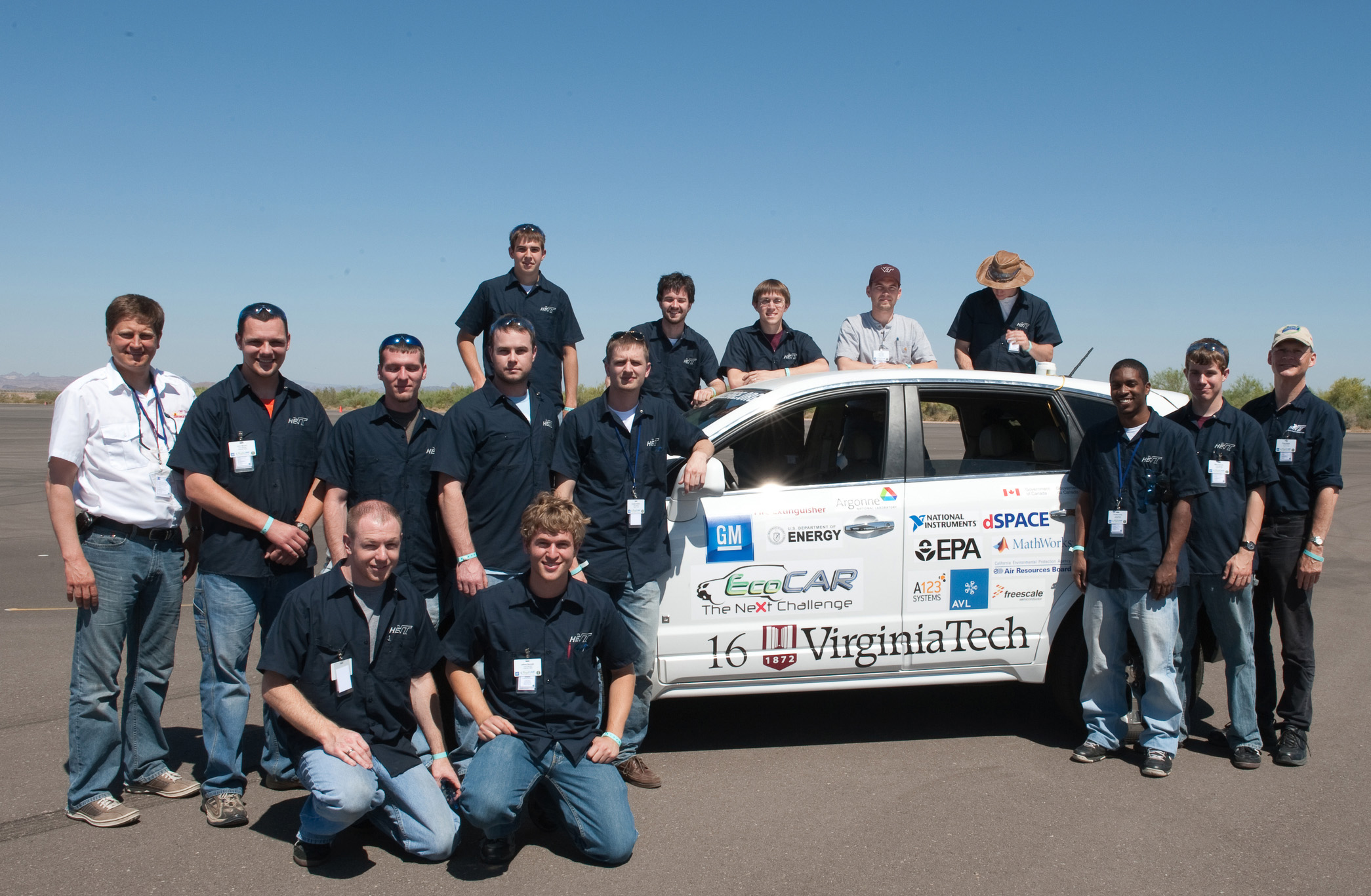 The 2009-10 Hybrid Electric Vehicle Team of Virginia Tech