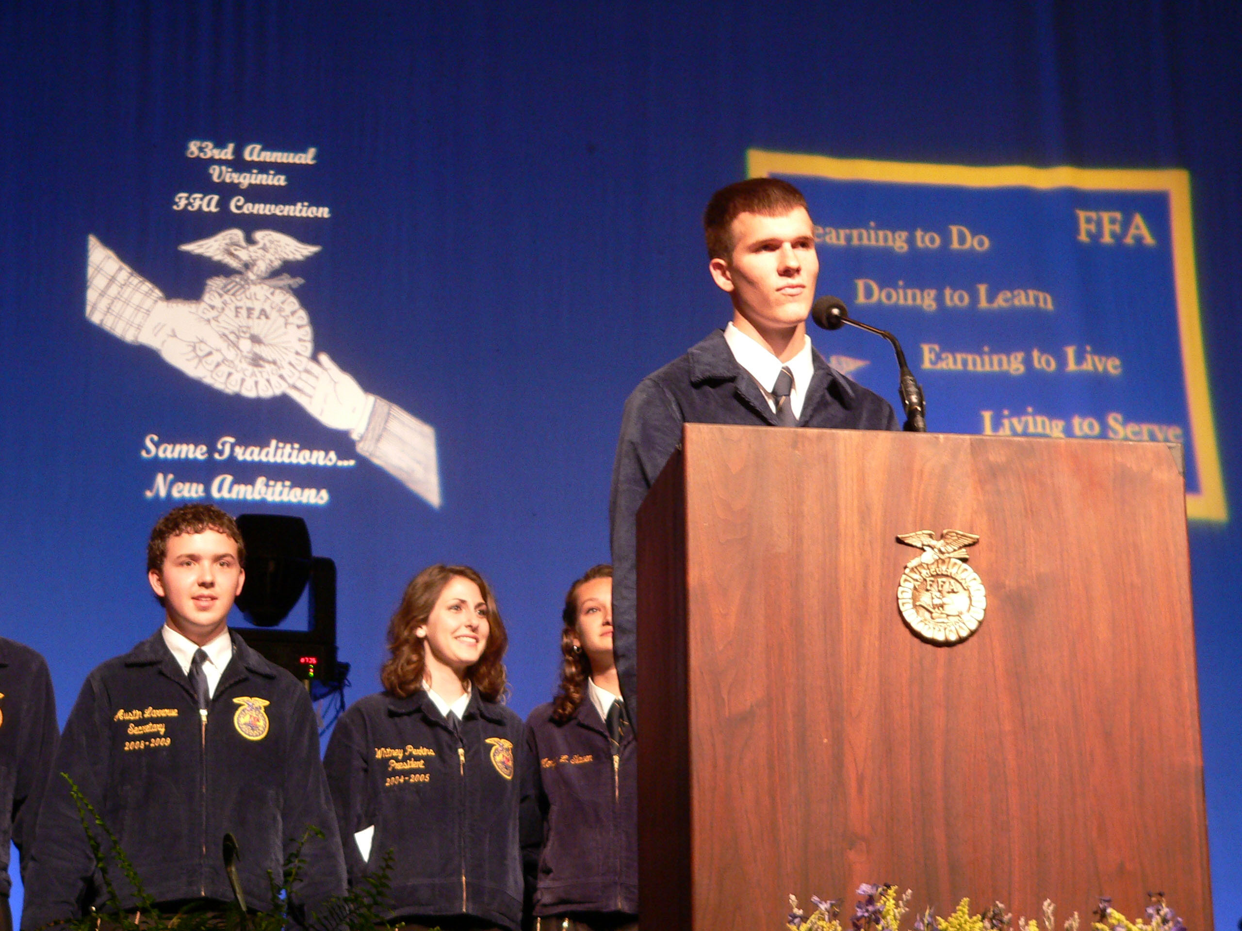 The 84th annual Virginia FFA Convention will be held from June 21 to 24.