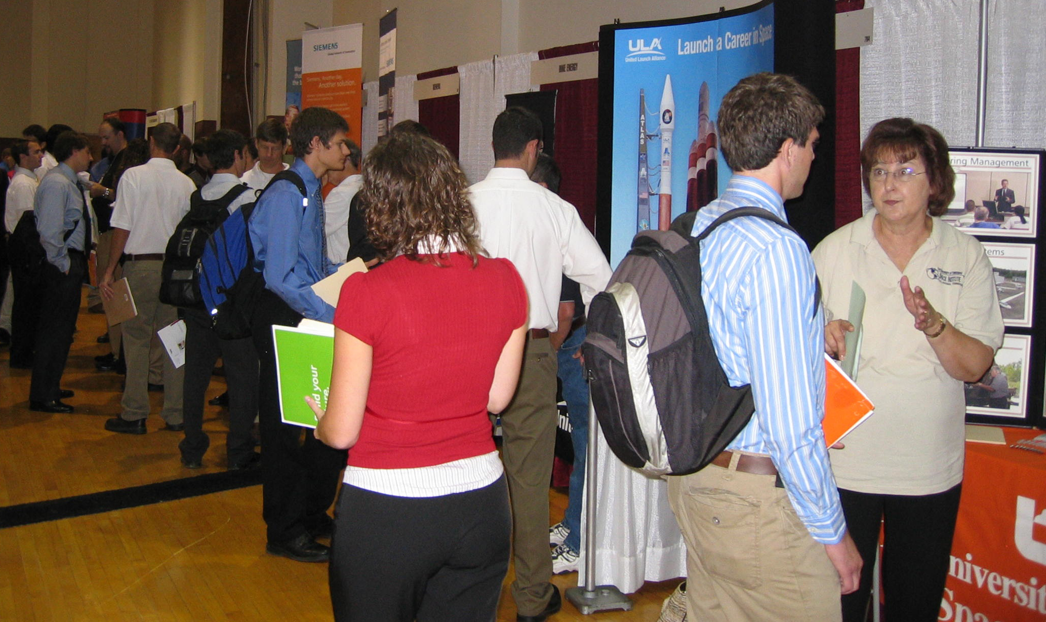 Engineering Expo booths