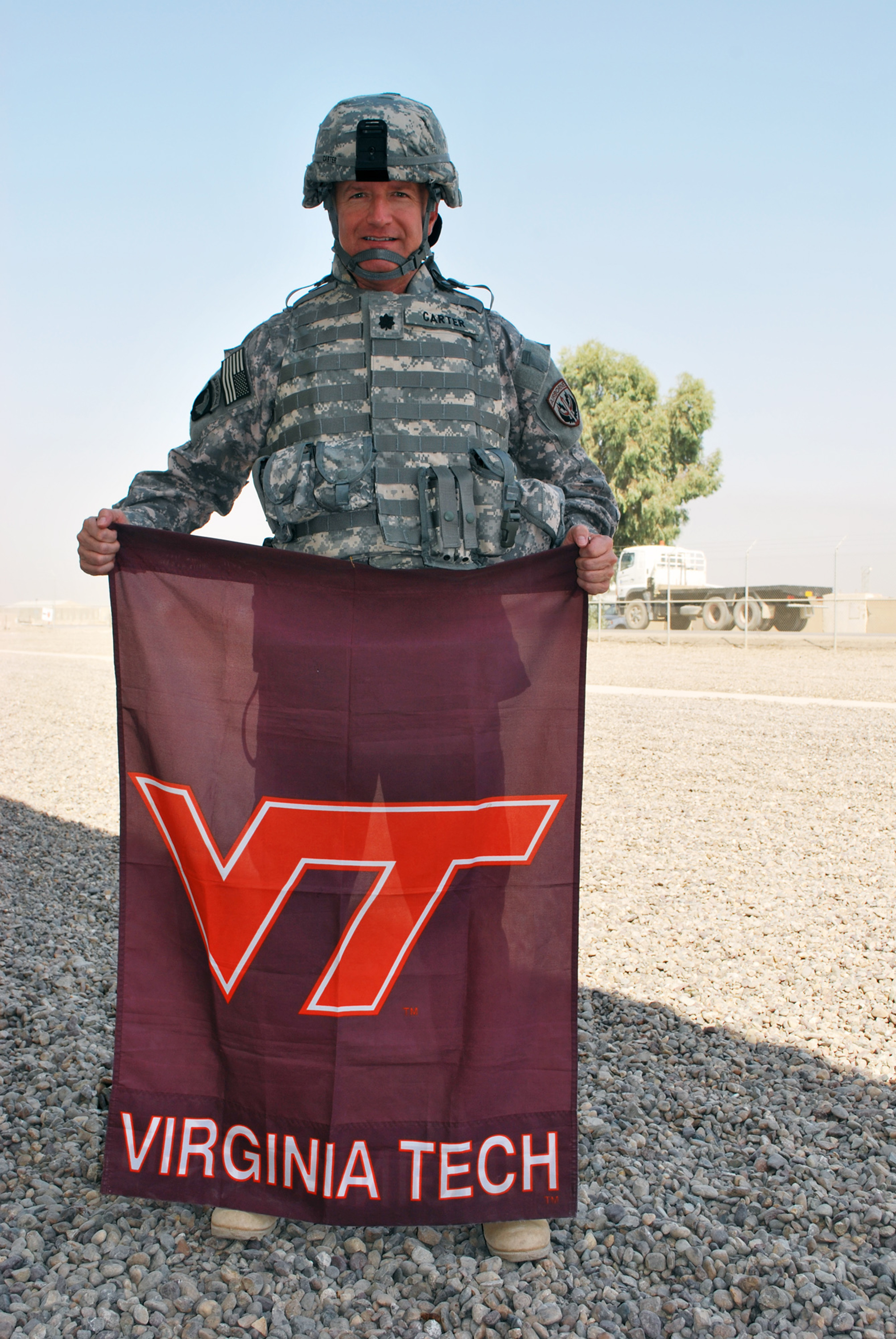 Lt. Col. Steven Carter, U.S. Army, Virginia Tech Corps of Cadets Class of 1989