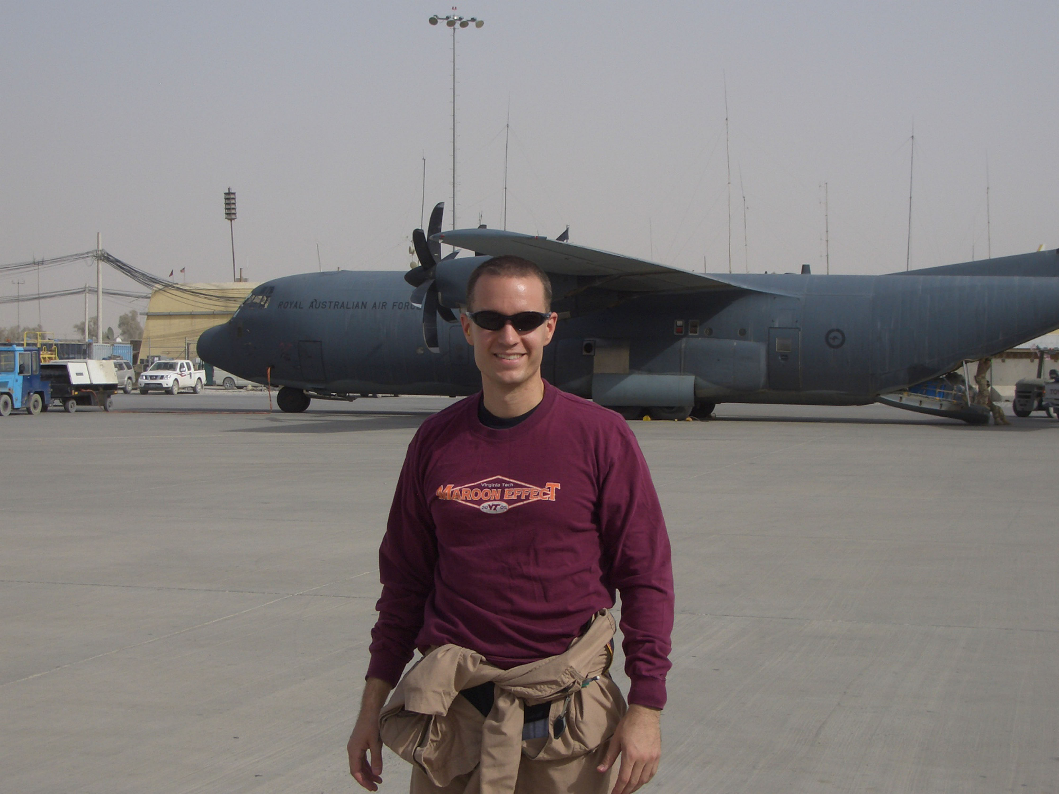 Capt. Daniel Richardson, U.S. Air Force, Virginia Tech Corps of Cadets Class of 2004