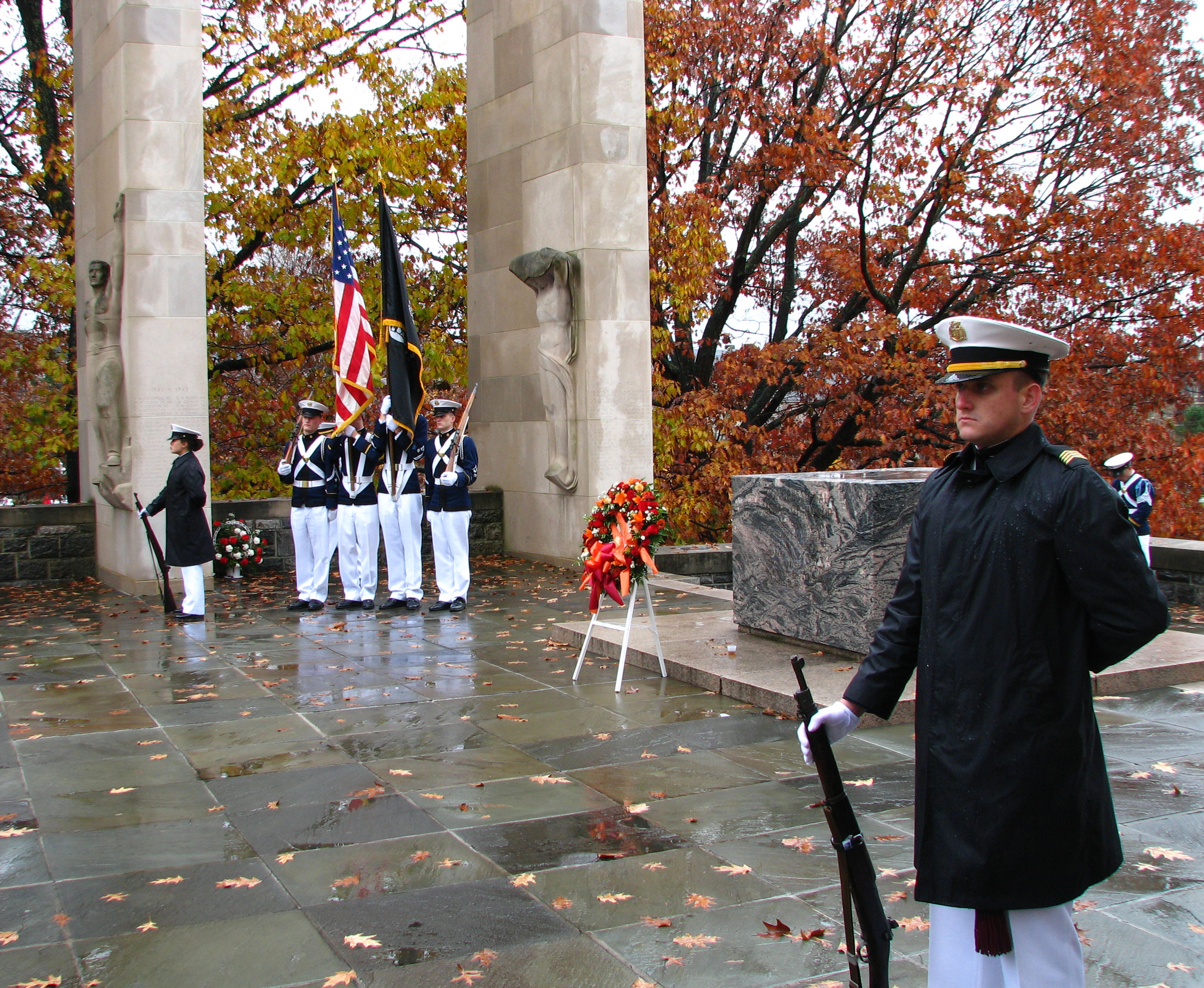 2009 Virginia Tech Corps of Cadets Veterans Day Ceremony