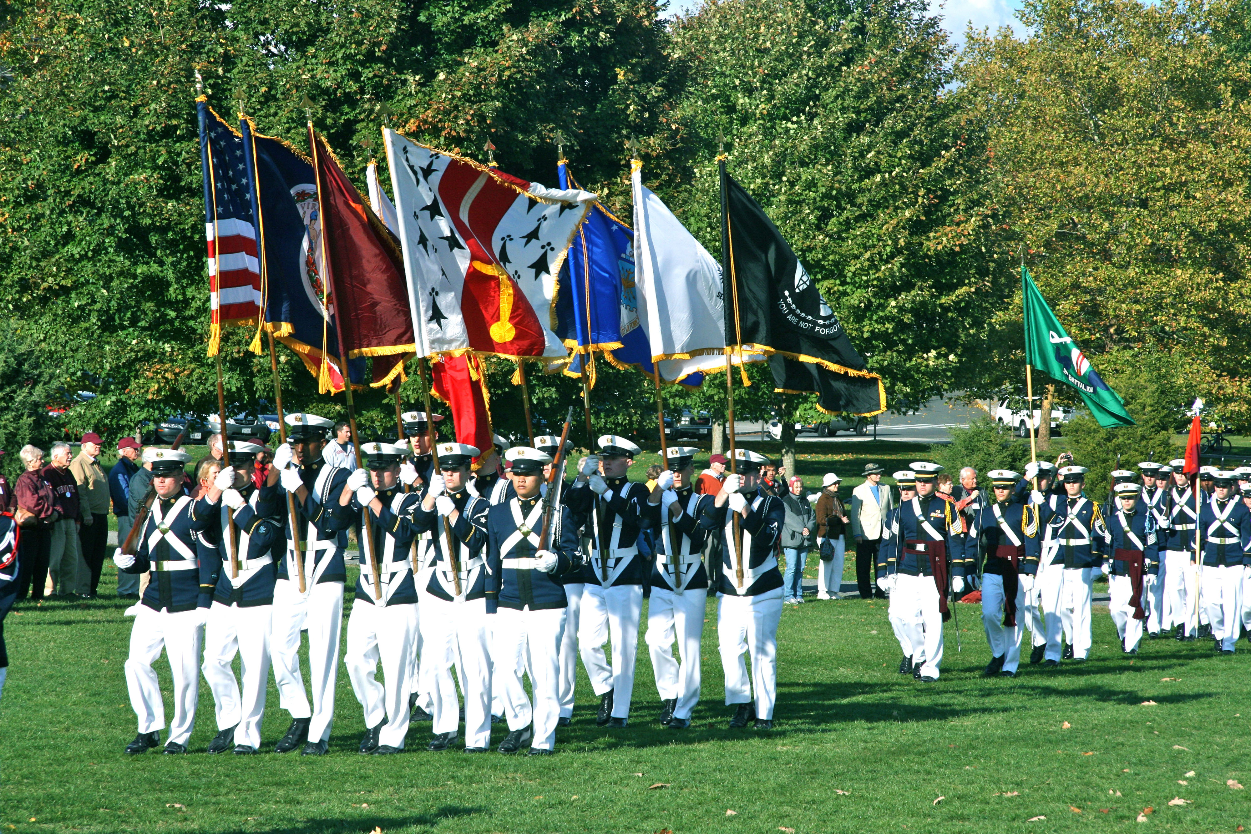 Articles about color guard - The Virginia Tech Corps Of Cadets Color Guard