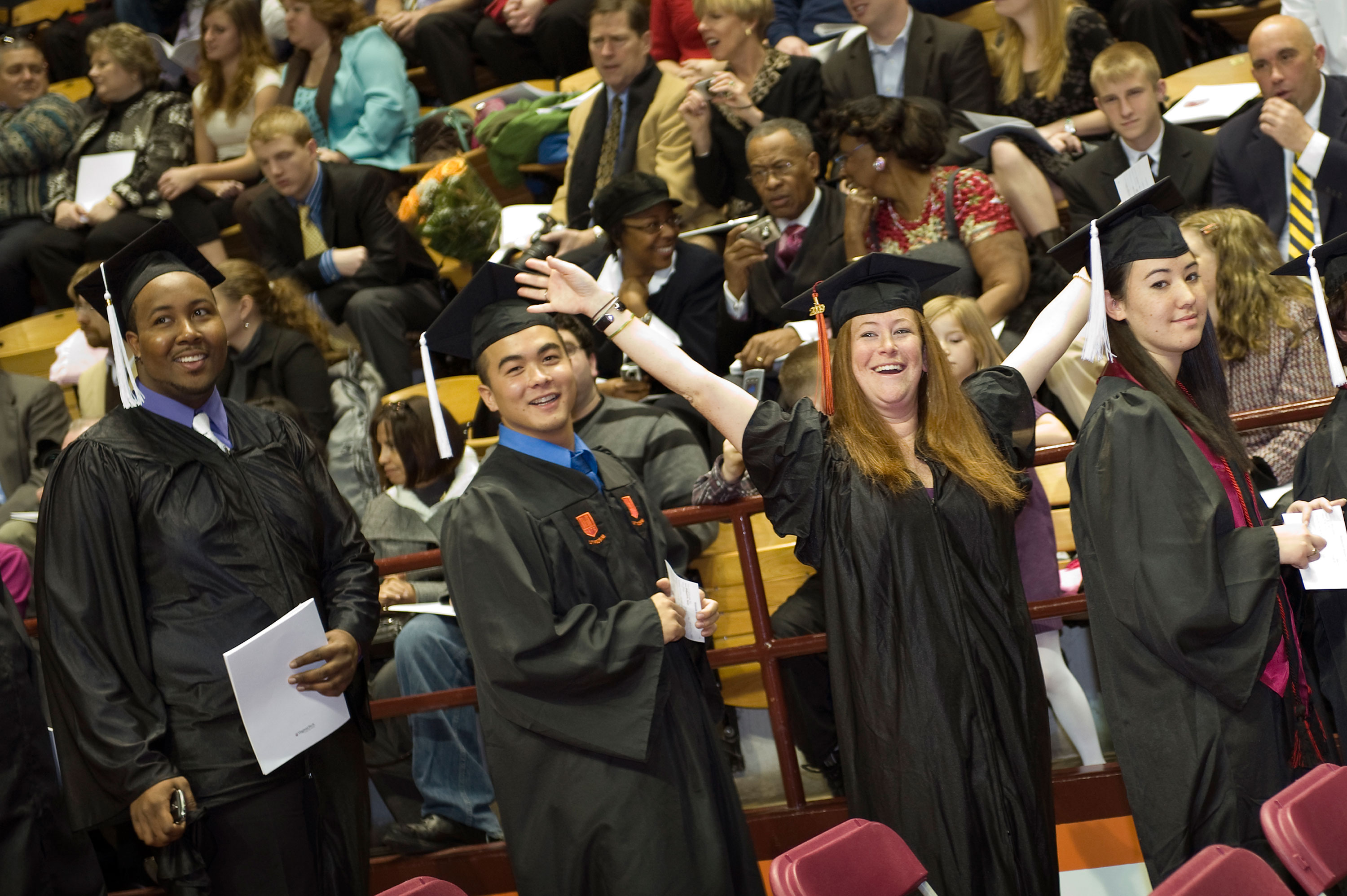 Fall Commencement in Cassell Coliseum