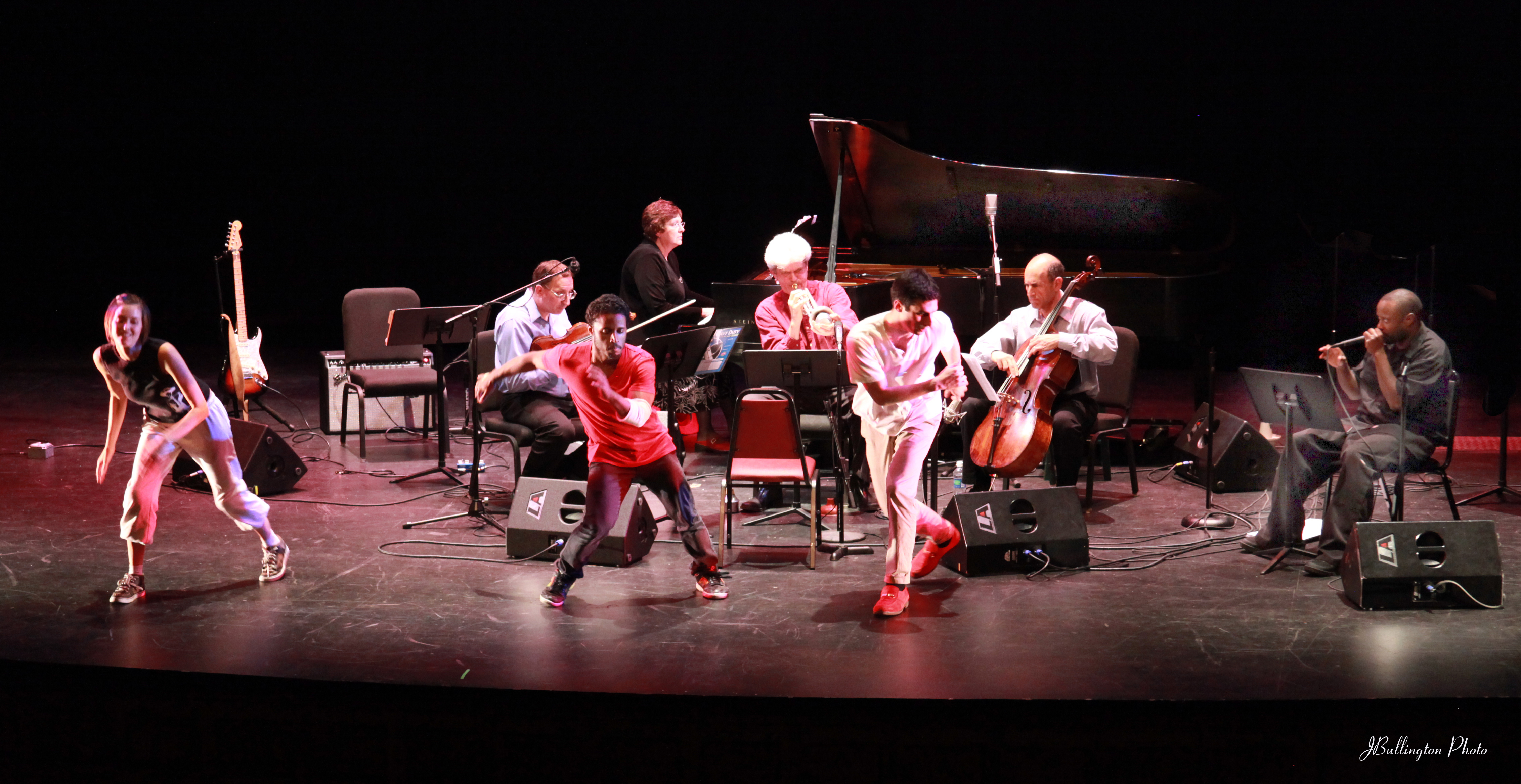 Kandinsky Beat Down performs on stage