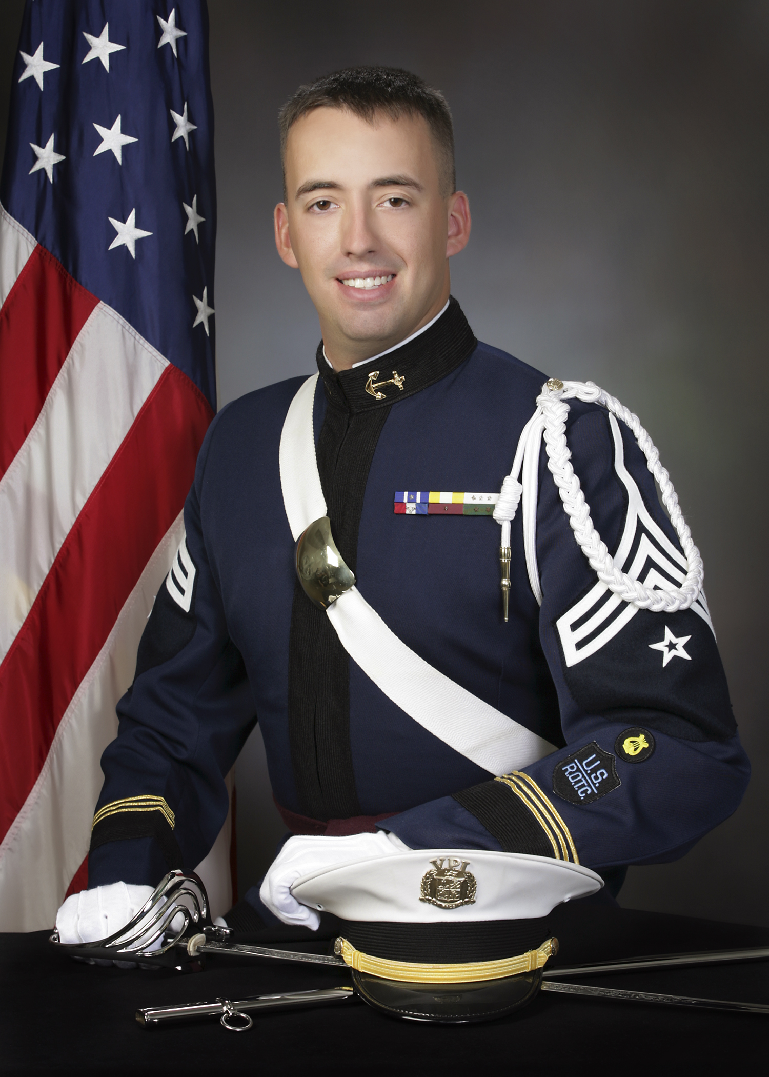 Lt. j.g. Zachary Eckhart, U.S. Navy, Virginia Tech Corps of Cadets Class of 2007 who was killed in a flight training accident in April 2010