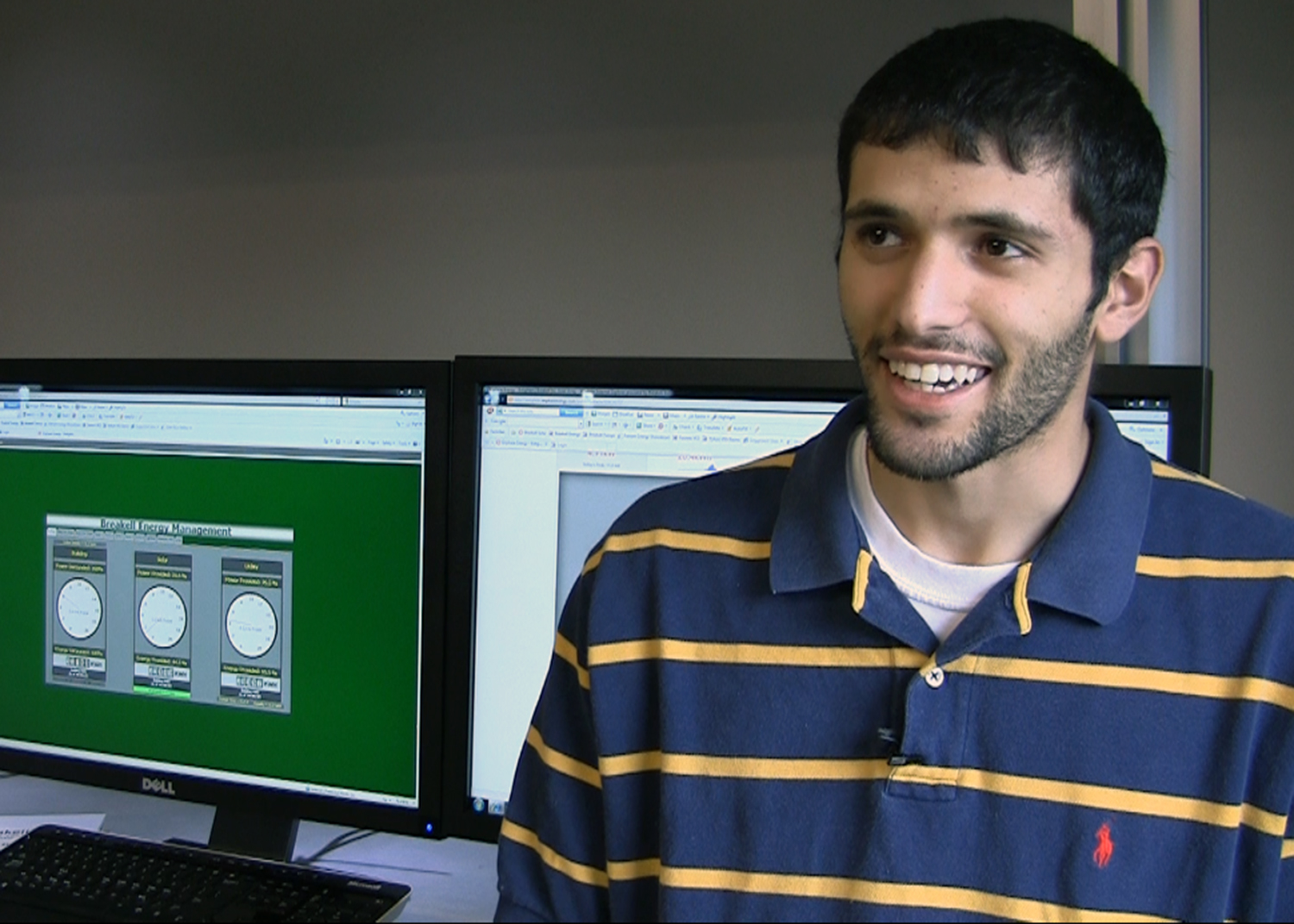 Nader Rasoul at Breakell, a Roanoke-based company
