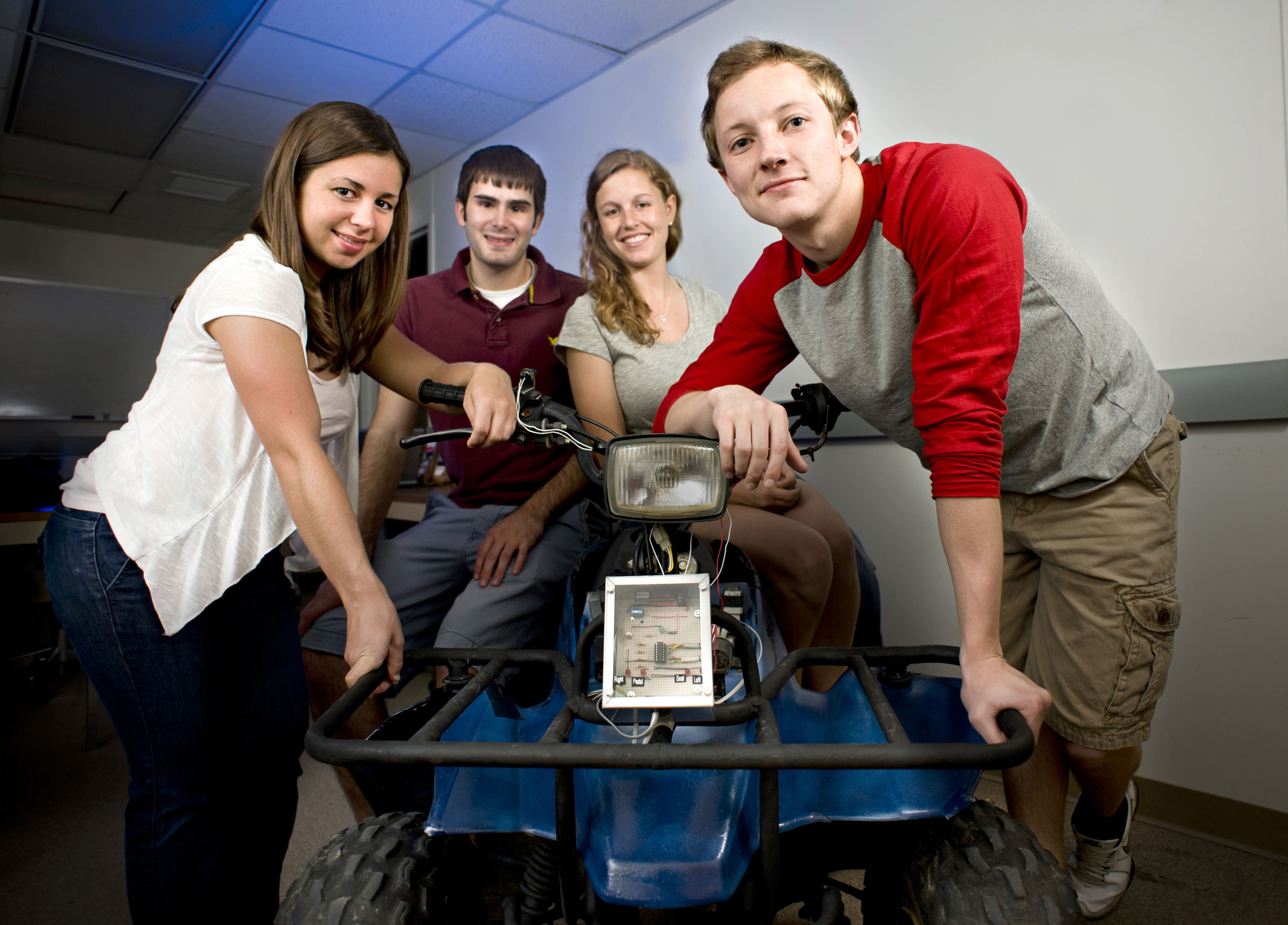 Engineering students develop child-proof ignition safety