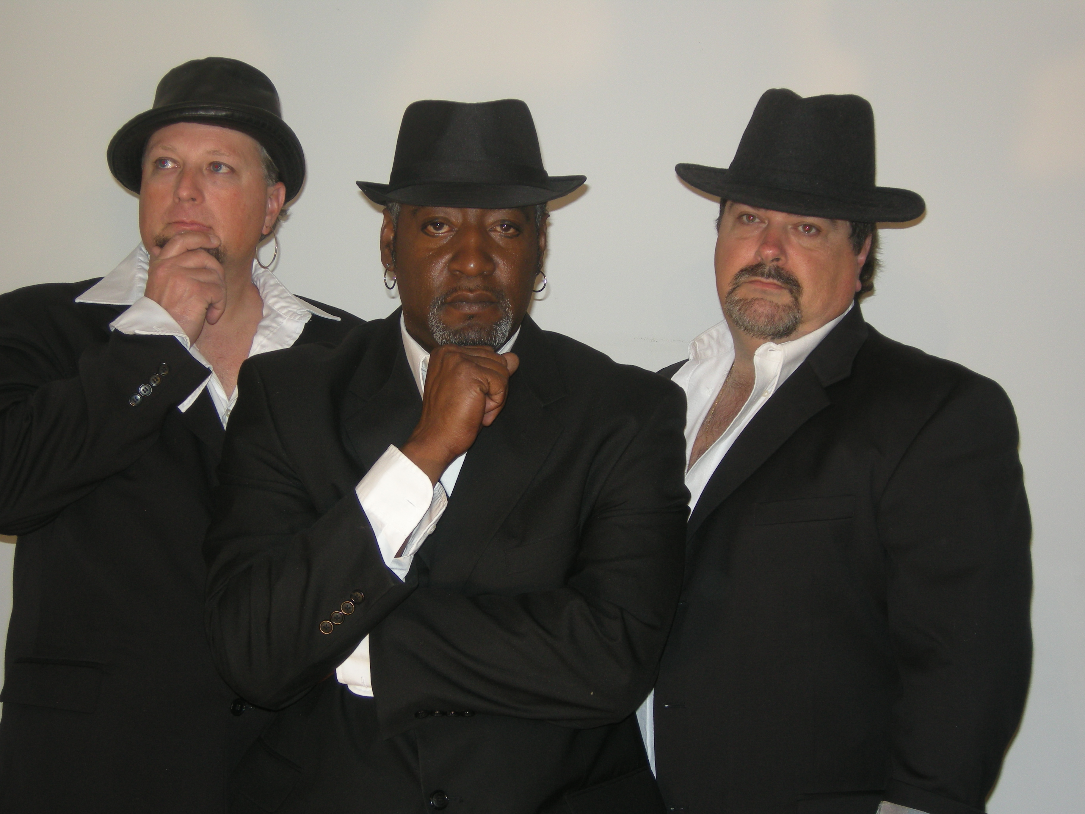 Members of the band Surrender Dorothy (left to right): Chris Spradling, Ray Williams, Steve Anderson