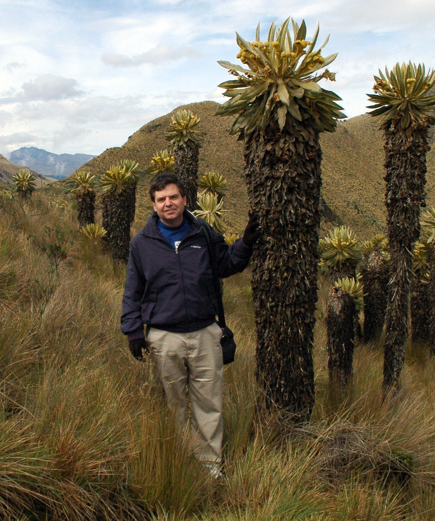 Adrian Ares in the Andes Mountains of Columbia