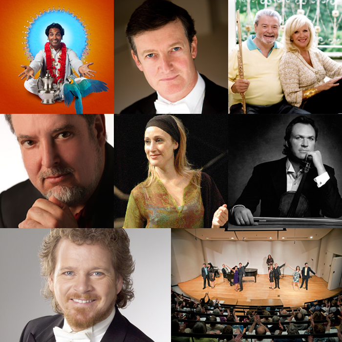 Collection of performers for the 2011-2012 season