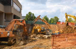 Ground was broken on the Veterinary Medicine Instruction Addition over the summer. Construction is moving forward at a steady pace and the project is on track to finish by next summer.