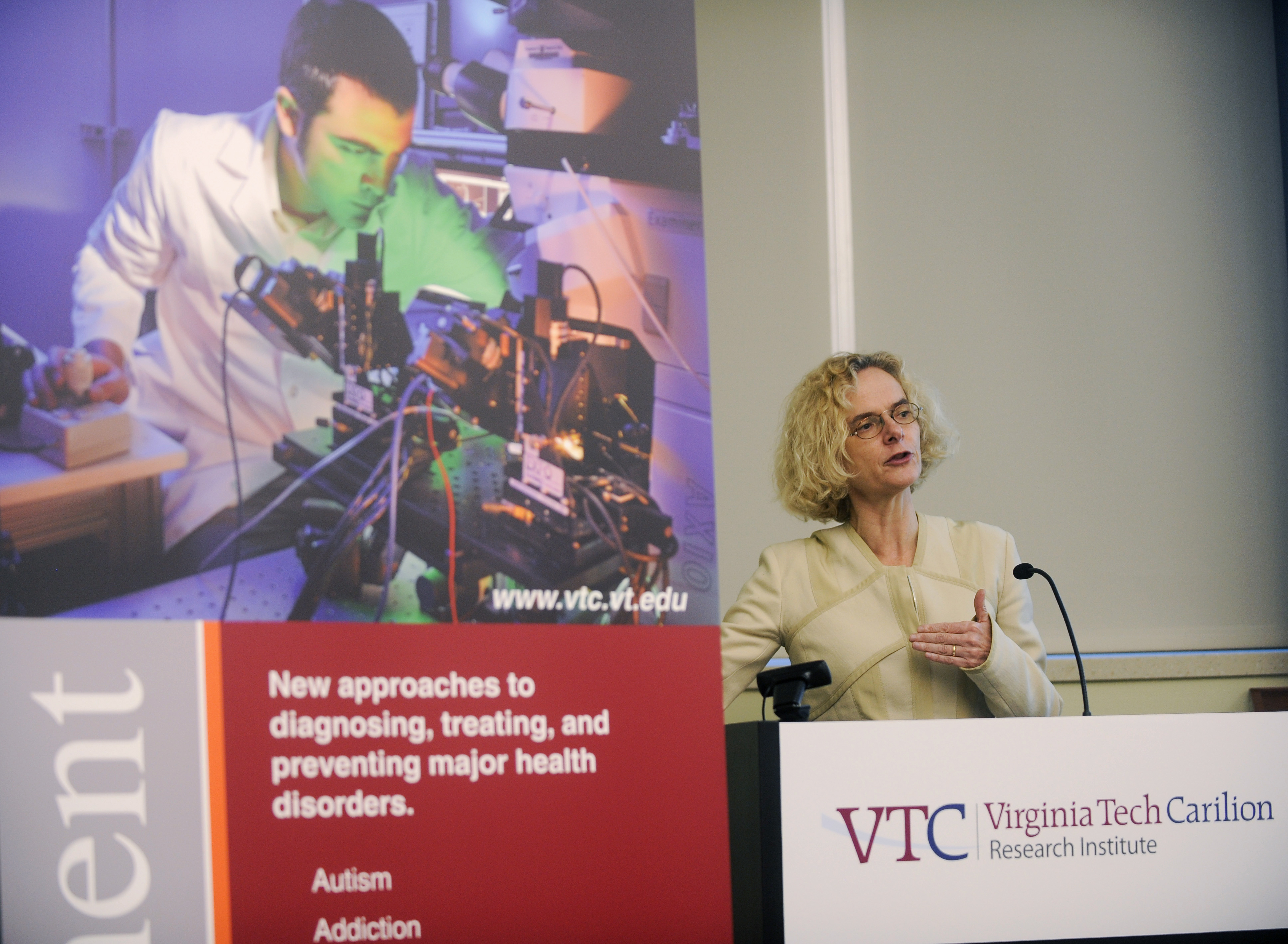 """Thanks very much in part to technologies like brain imaging, we've started to understand that repeated drug exposure basically changes your brain,"" Dr. Nora Volkow, director of the National Institute on Drug Abuse, said during the announcement of the National Quit & Recovery Registry. ""And that of course has led to the recognition that drug addiction is a chronic disease of the brain."""