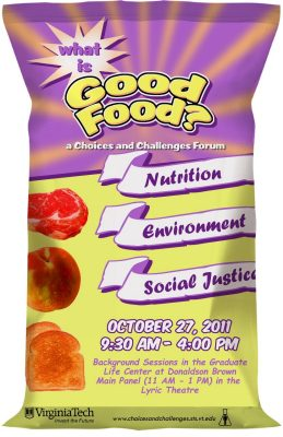 What is good food poster.