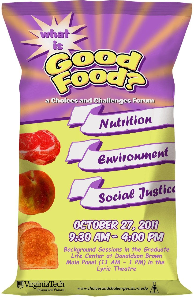 Public forum to explore 'What is good food?' | Virginia Tech