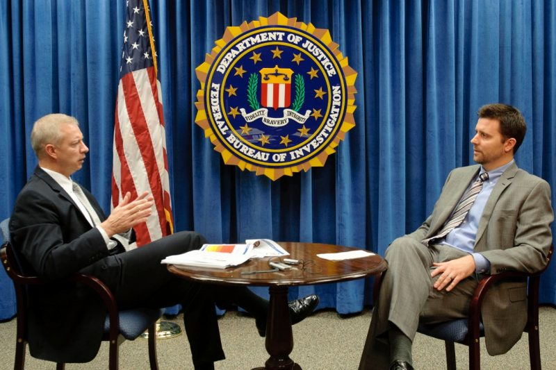Pamplin alumnus and FBI assistant director Gordon Snow and Wade Baker, director of risk intelligence at Verizon and a Pamplin doctoral student, discuss cybersecurity topics.