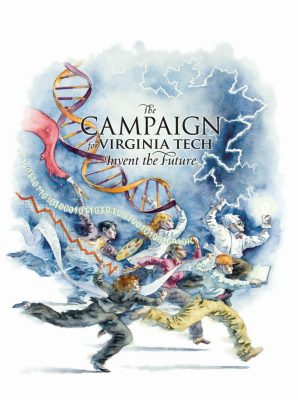 Logo for The Campaign for Virginia Tech: Invent the Future