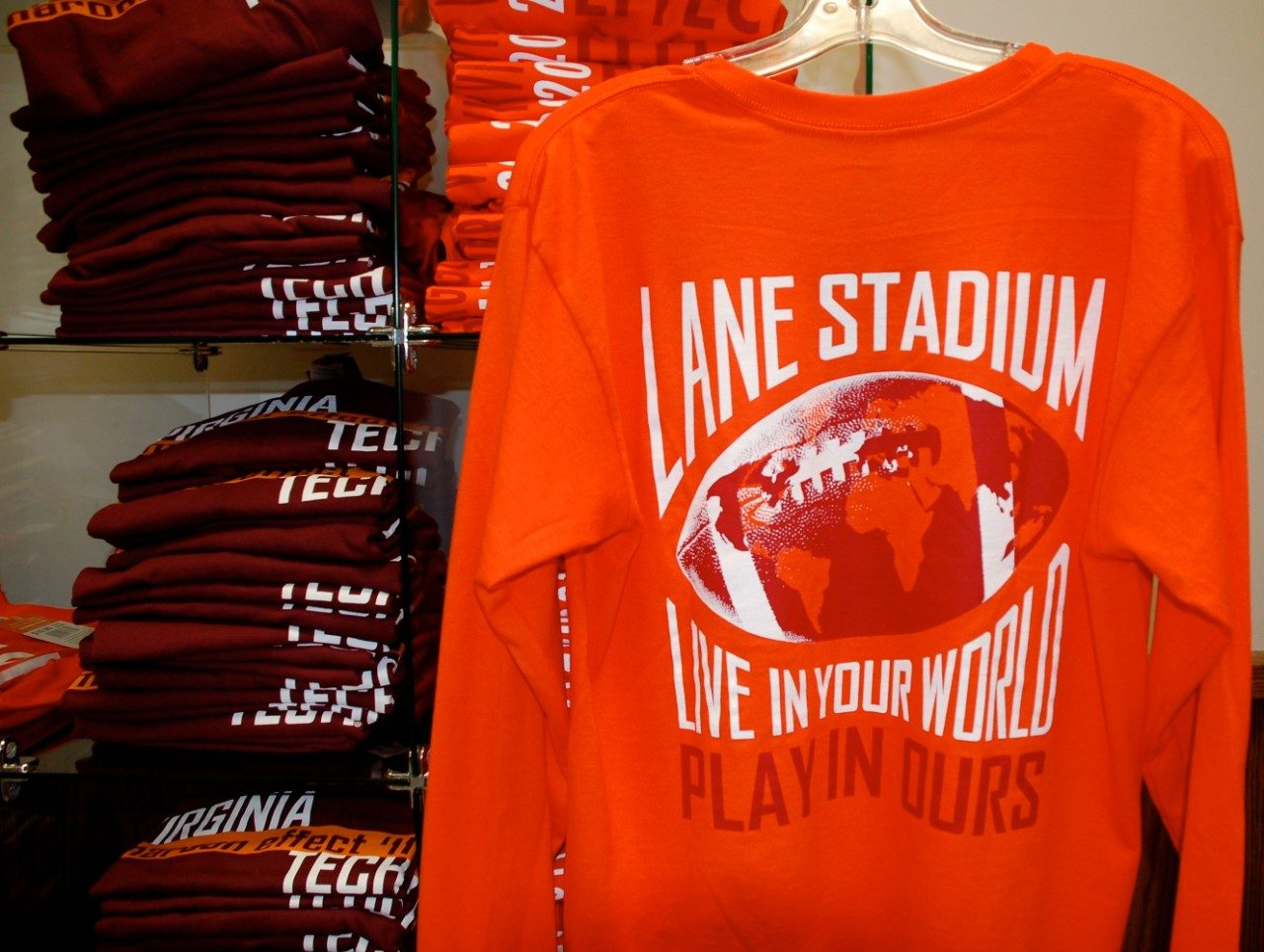 Hokie Effect shirts are on sale in advance of the Orange Effect game on Nov. 17 against North Carolina.