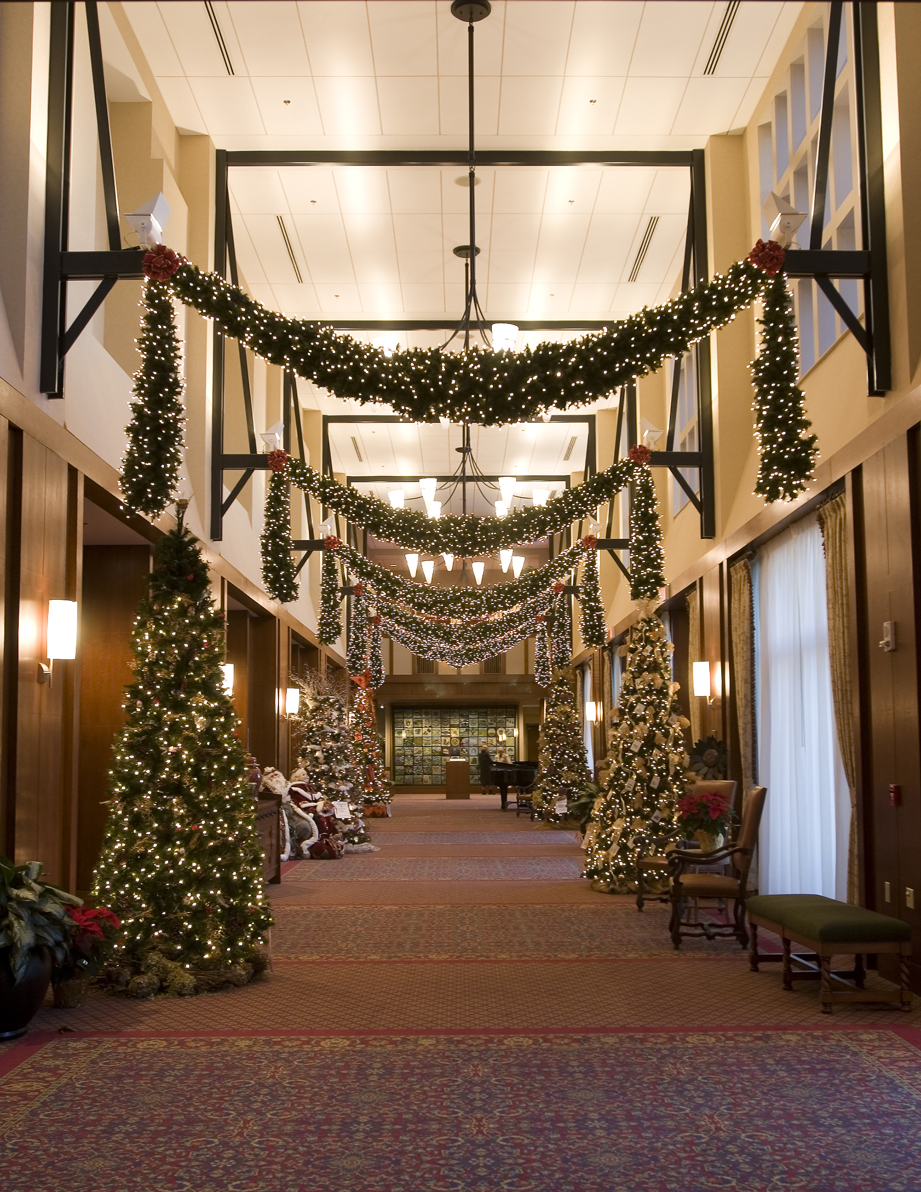 Holiday visitors will experience a festive atmosphere and must-see décor.