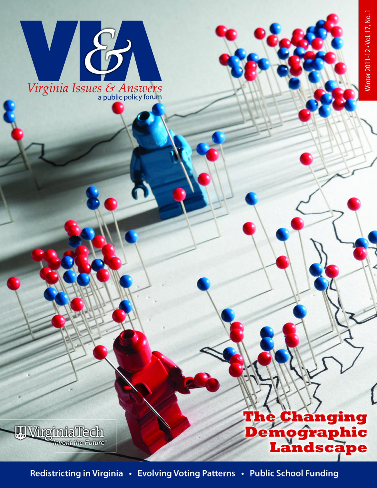 Winter 2011-12 edition of Virginia Issues & Answers