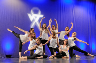 Contemporary Dance Ensemble performs during the 2011 Day of Remembrance.