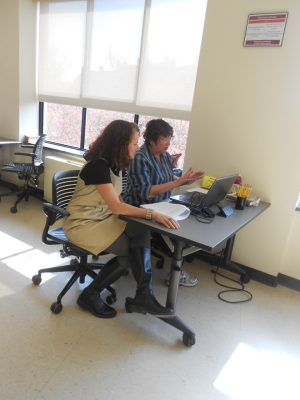 Both undergraduate and graduate students utilize expertise of Writing Center coaches.