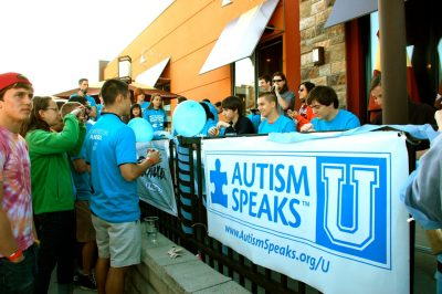 Autism Speaks U at Virginia Tech teamed up with Panera, Theta Tau, and Theta Delta Chi to put together the Bagel Binge event. Proceeds went to the national Autism Speaks organization.