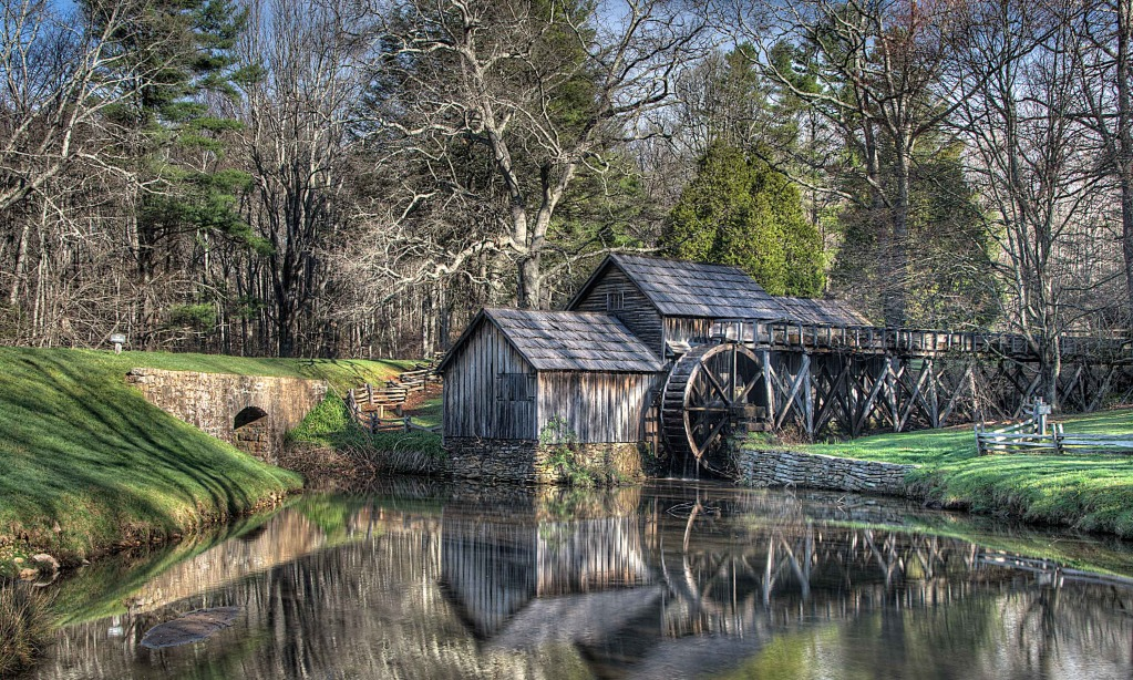 Photograph of Mabry Mill by Dr. Robert Slackman