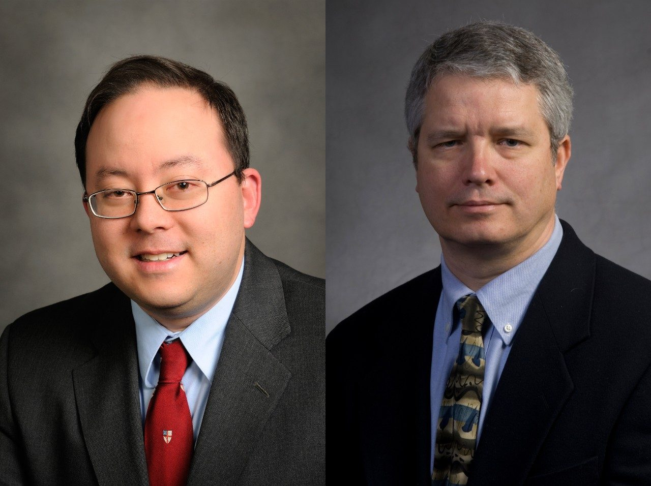 Kenneth H. Wong (left) and Philip A. Skomra
