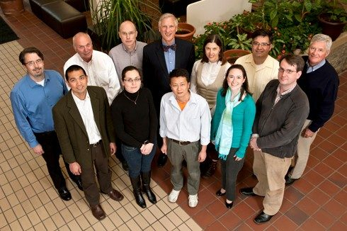 Members of the Virginia Tech Center for Drug Discovery