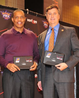 Brad Casper and Alvin Gentry