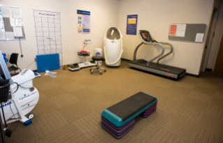 The BOD POD is part of the fitness assessment packages available at McComas Hall.