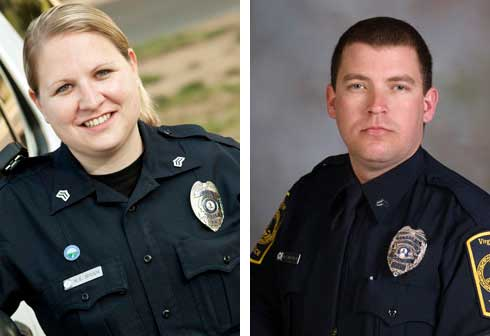 Virginia Tech Police Department promotes two officers  1defb549cc352