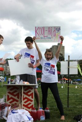 Members of the club at Relay for Life