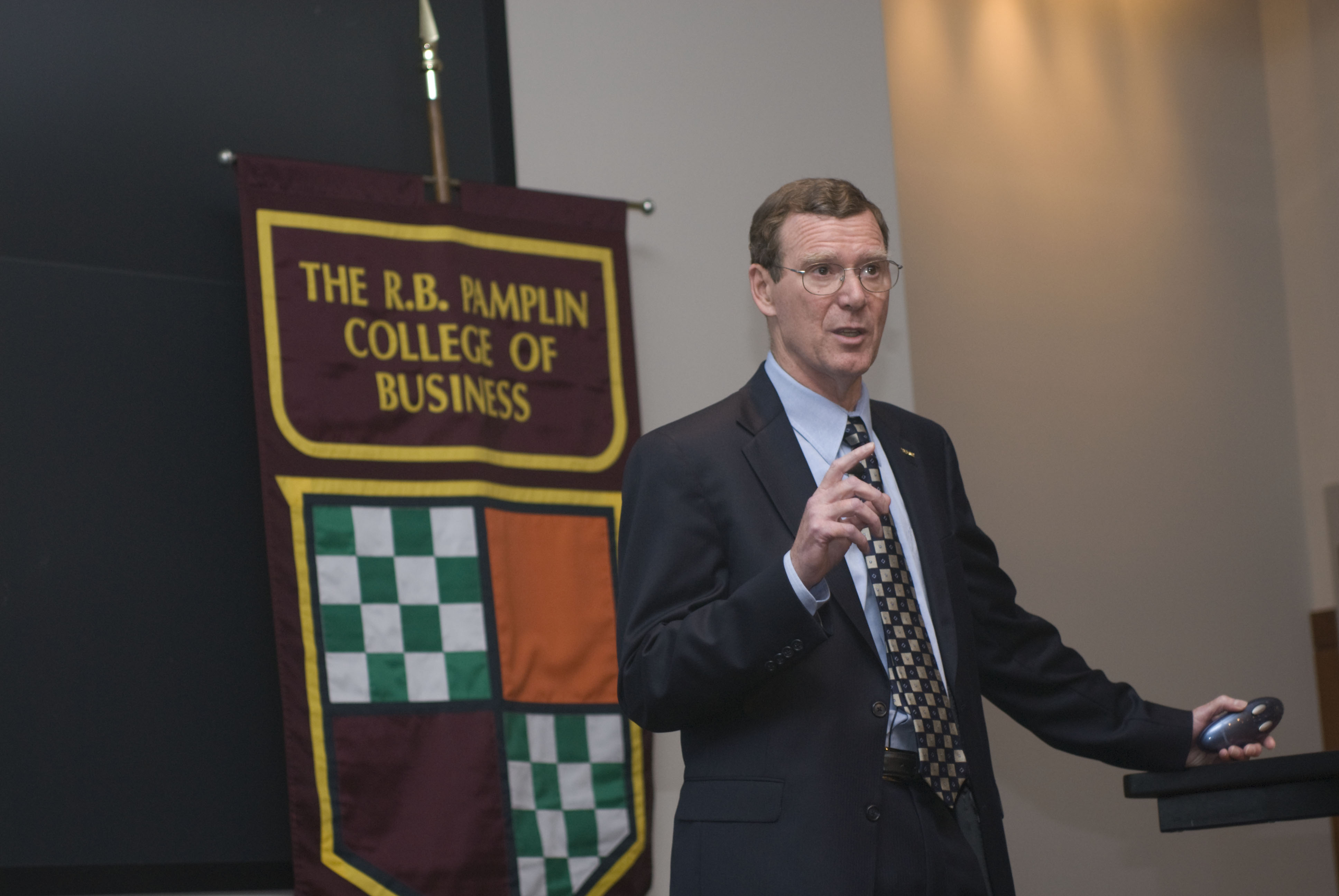 John Allison discusses capitalism in the BB&T Lecture.
