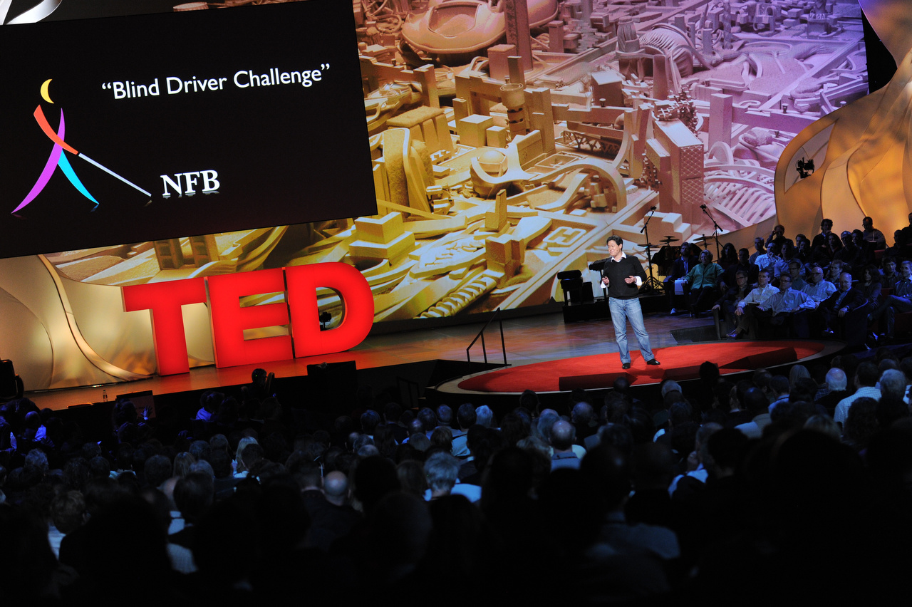 Dennis Hong presents at TED 2011
