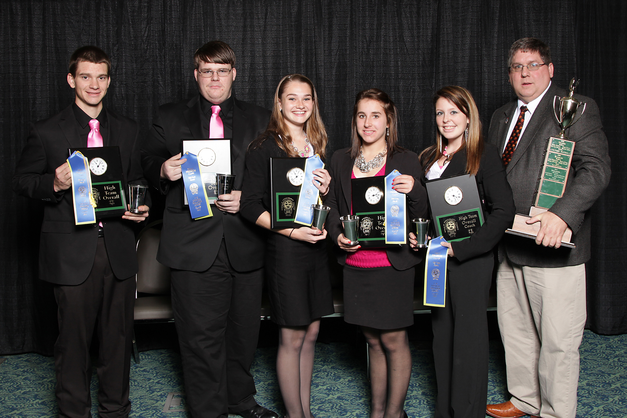 members of the 2012 National Champion 4-H Skillathon Team