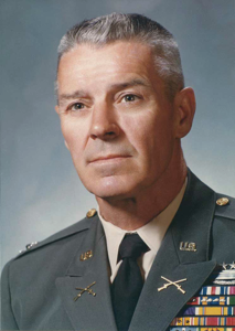 Brig. Gen. Earl C. Acuff, Commandant of Cadets from 1973 to 1980